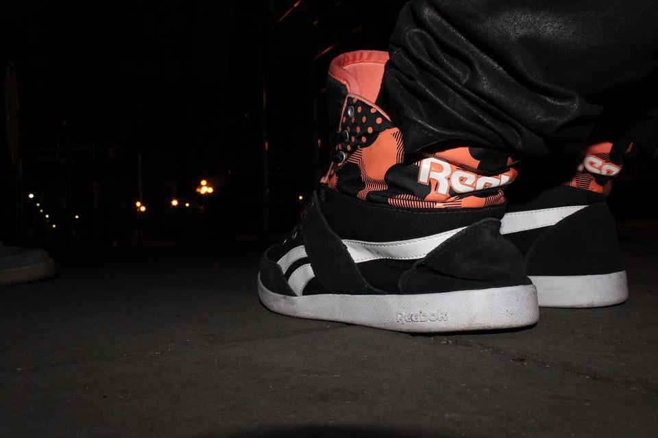 Shoes, Reebok, Night, Soil