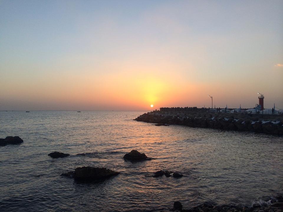Sokcho, Sea, Sunrise
