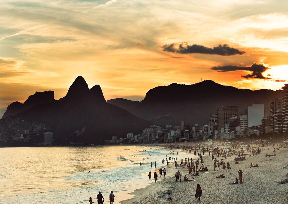 Sunset, Nature, Beach, Landscape, Brazil, Sol, Water