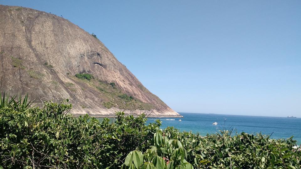 Itacoatiara, Beach, Sol, Mar, Summer