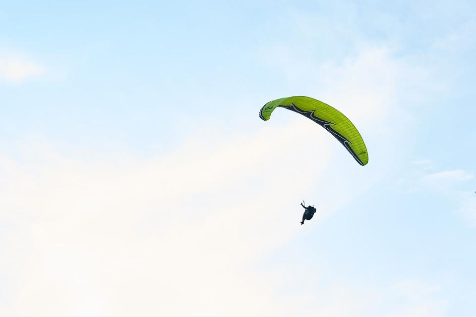 Parachute, Fly, Solar, Hobbies, Blue, High, Summer