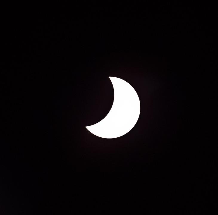 Eclipse, Solar, Sun, Moon, Partial, Sky, Astronomy