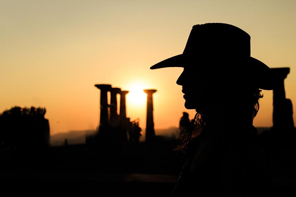 Silhouette, Sunset, Solar, Landscape, Nature, Peace