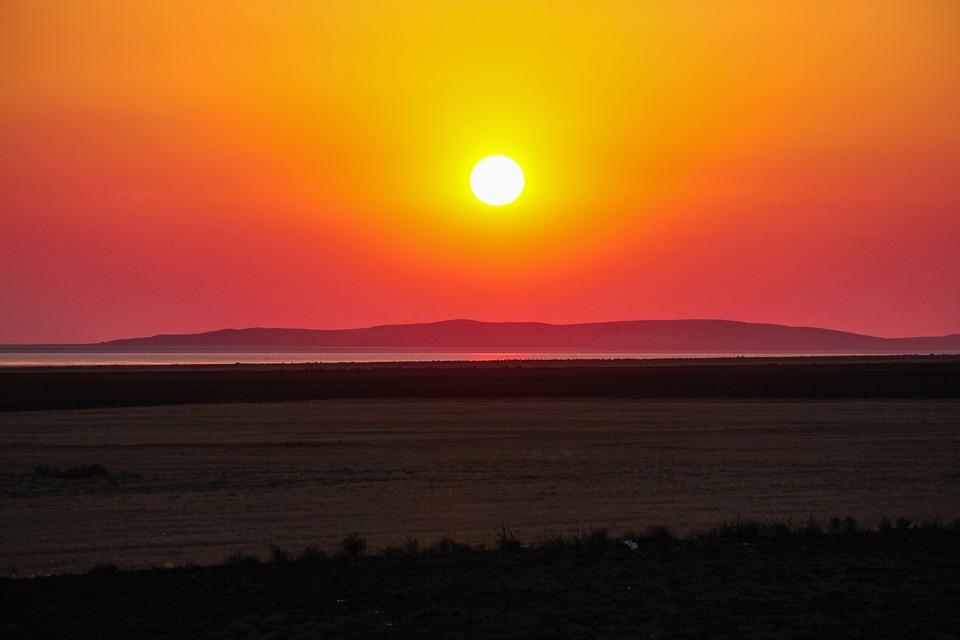 Sunset, Solar, Konya, Landscape