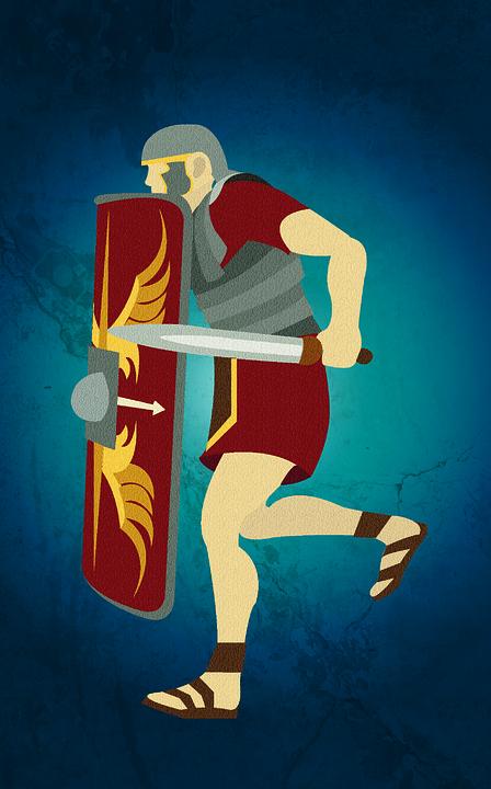Art, Roman, Rome, Soldier, Roman Soldier, Poster