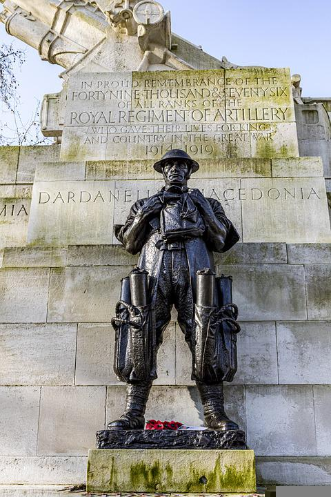 Soldier, Statue, Green Park, Monument, History
