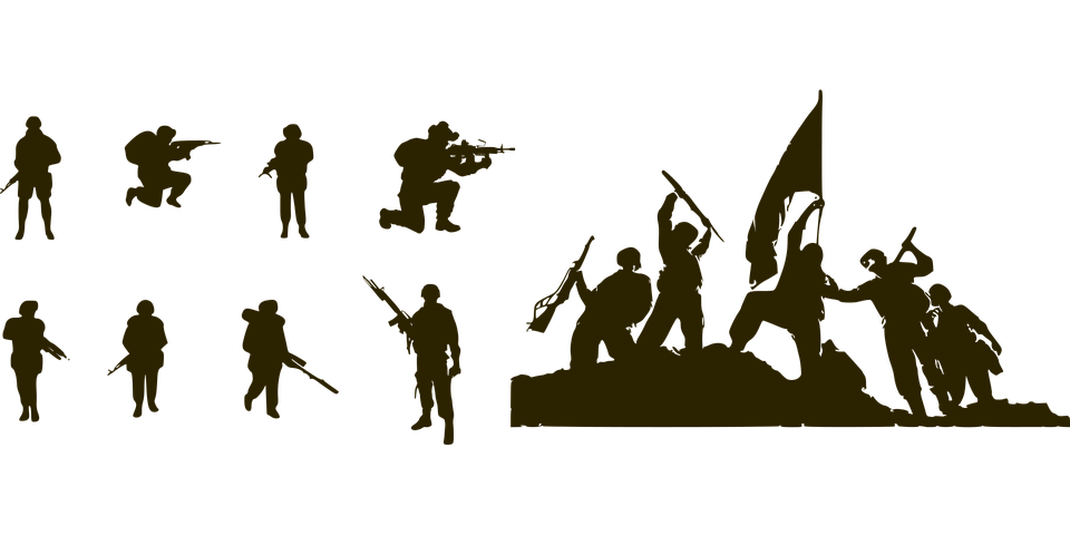 Soldier, Guns, Military, Army Silhouette, Indian Army