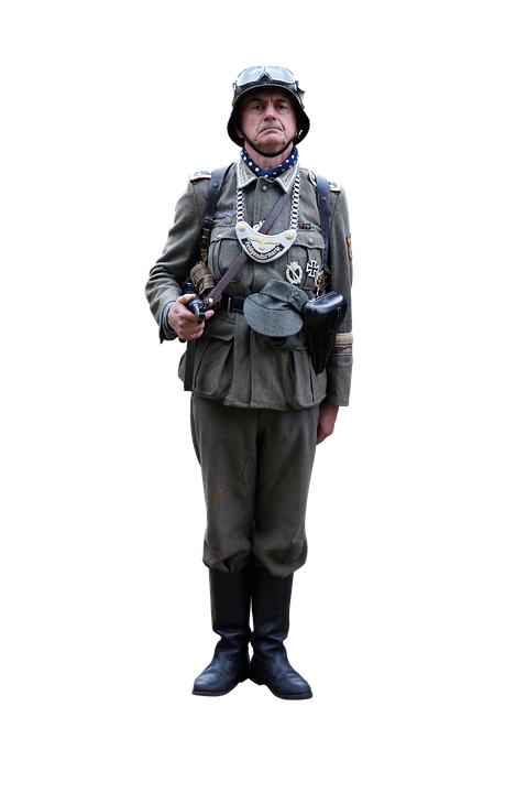 Soldier, Uniform, Helmet, Boots, World War, German
