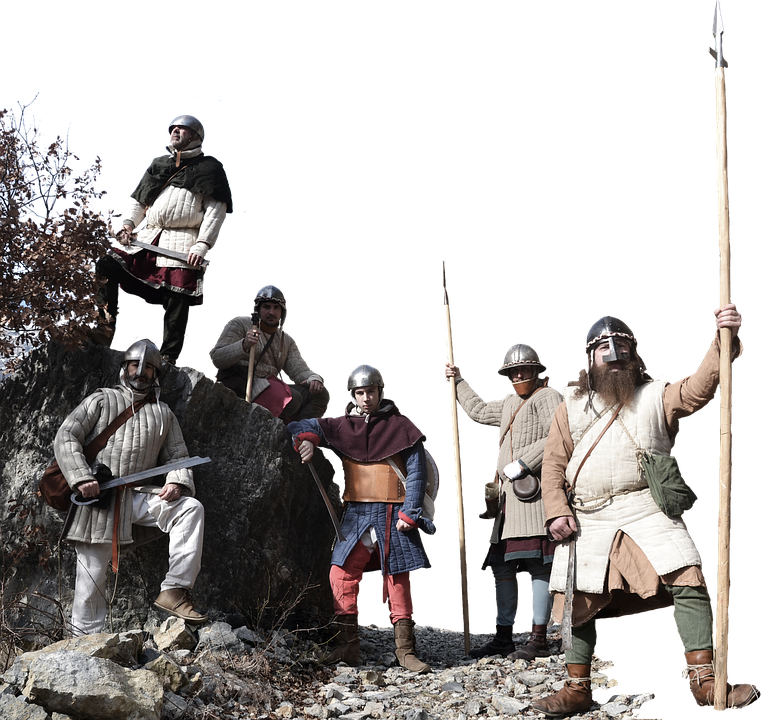Middle Ages, Soldiers, Army, Feudal, Reenactment
