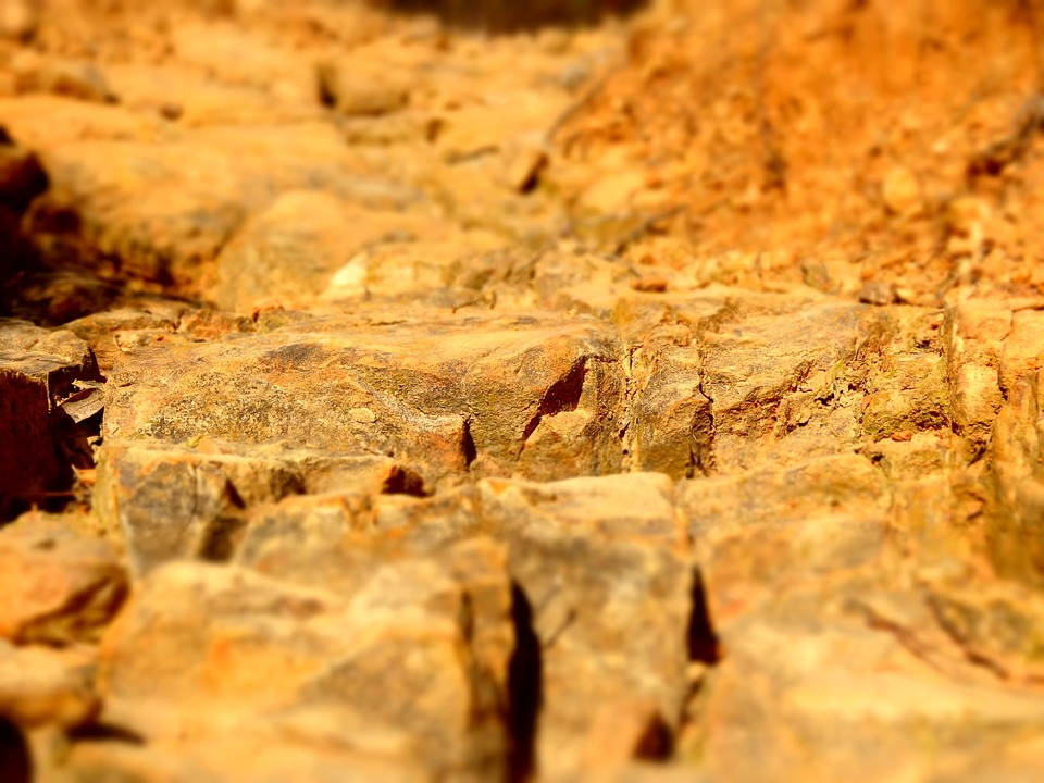 Nature, Red, Gold, Soil, Solid, Structure, Surface