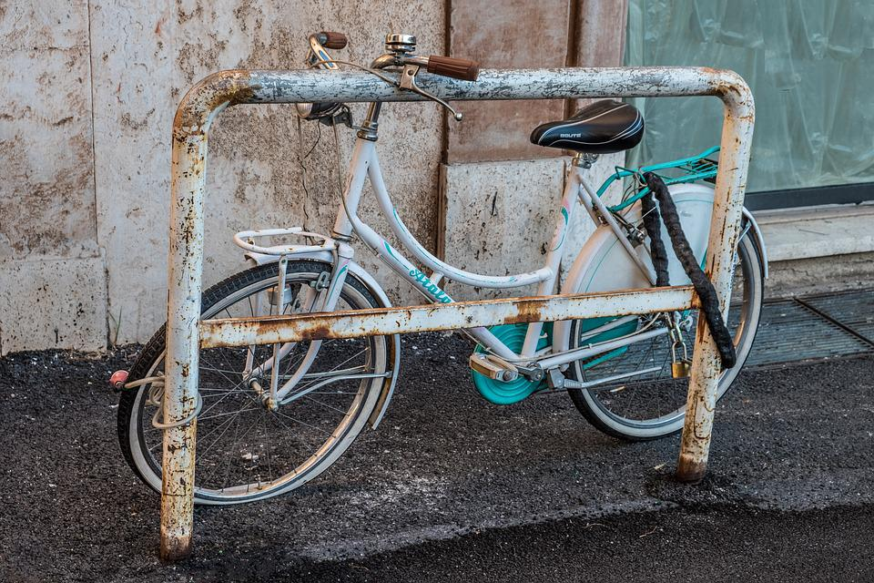 Bicycle, Abandoned, Abandonment, Peña, Only, Solo