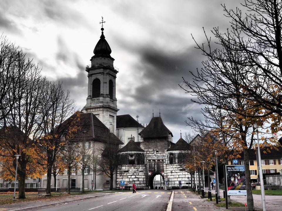 Baseltor, Solothurn, St Ursus Cathedral, Nave