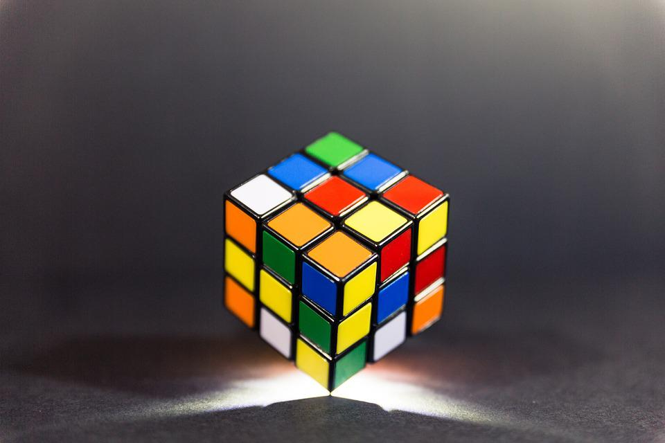 Rubik, Cube, Game, Puzzle, Toy, Play, Solving, Think