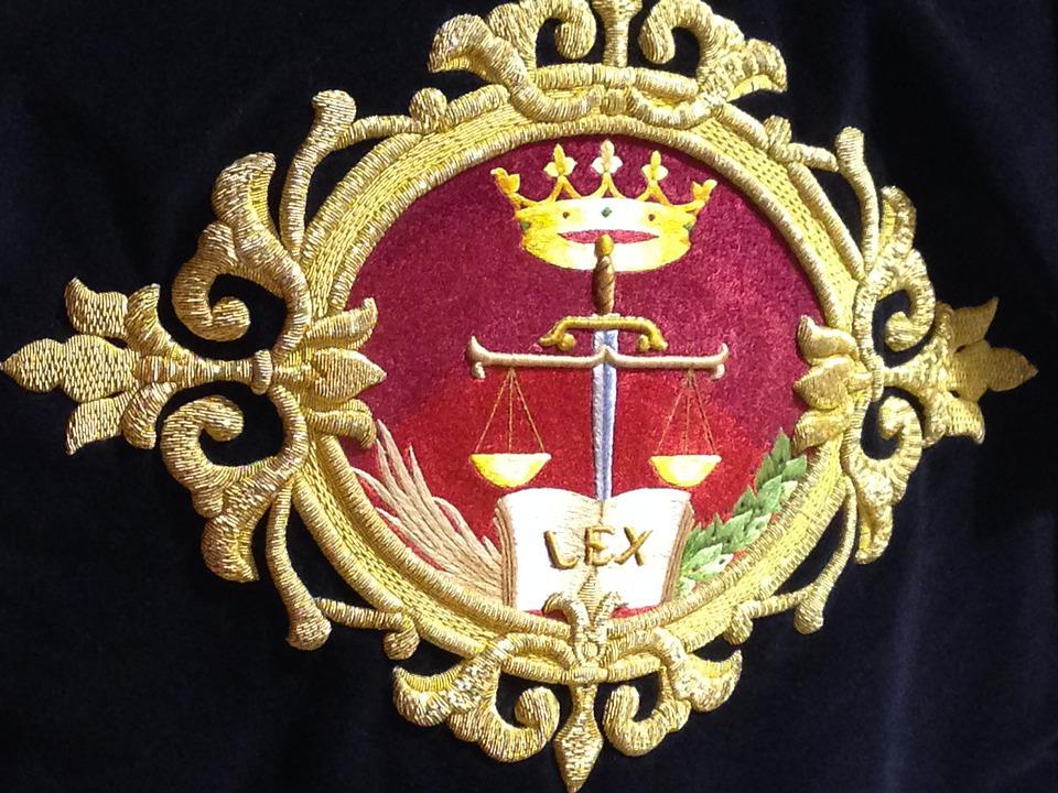 Spain, Lorca, Embroidery, Son Of Gold, Justice