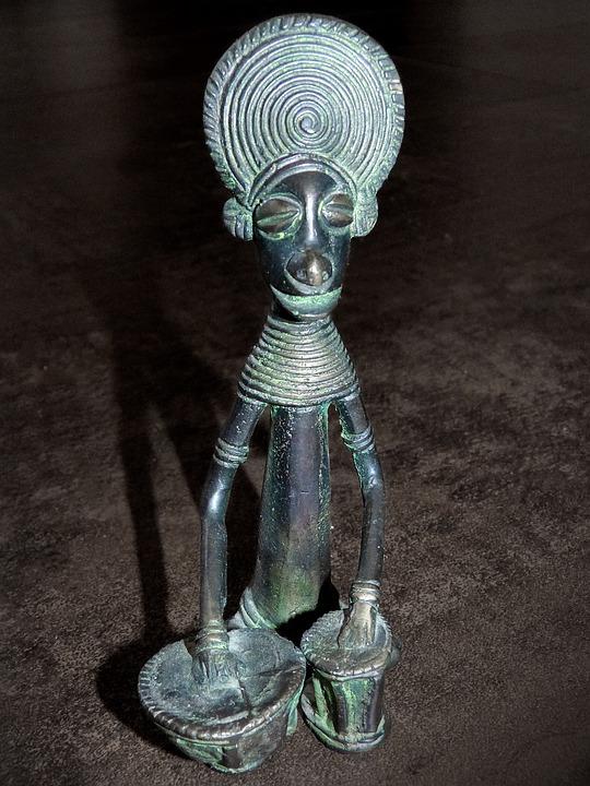African Figure, African Sculpture, Shaman, Sorcerer
