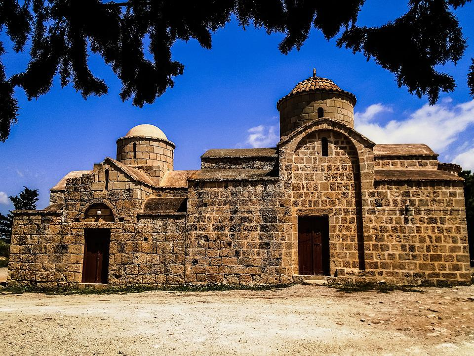 Cyprus, Sotira, Church, Orthodox