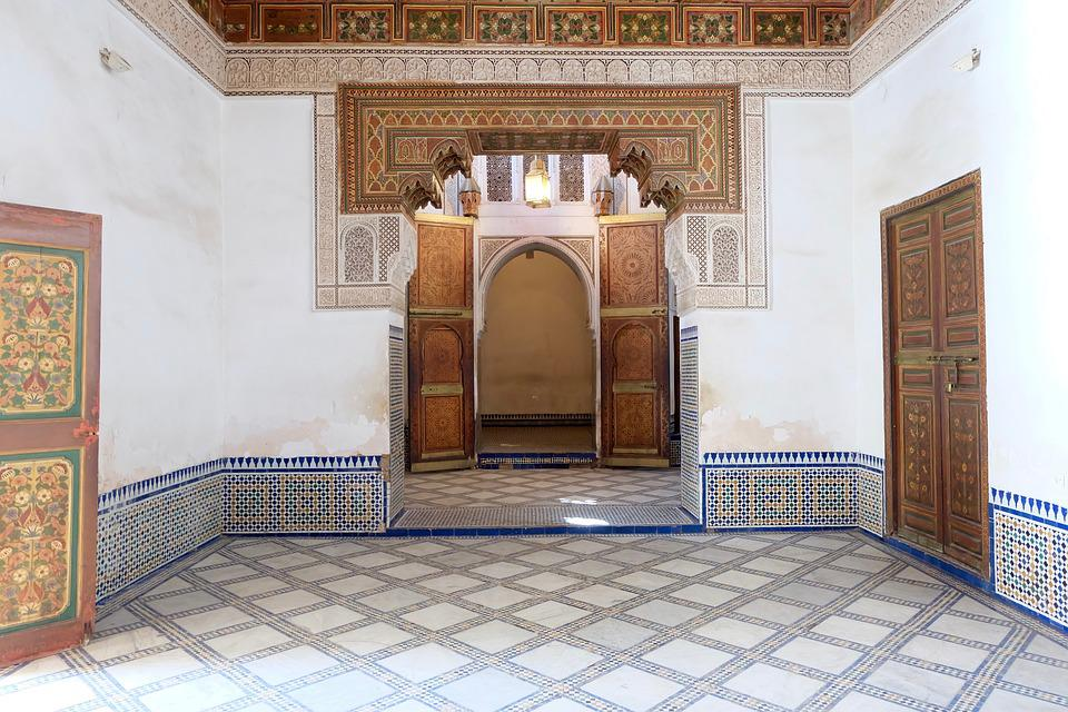 The Bahia Palace, Marrakech, Souk, Morocco