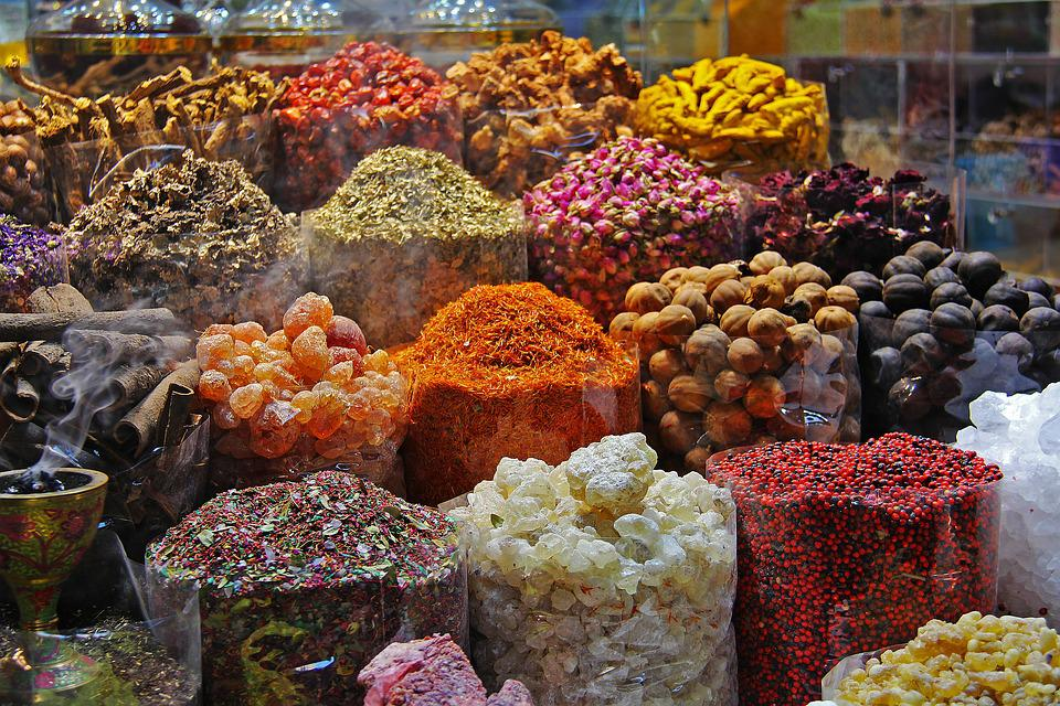 Souk, Spices, Spice Souk, Colorful, Souq, Market