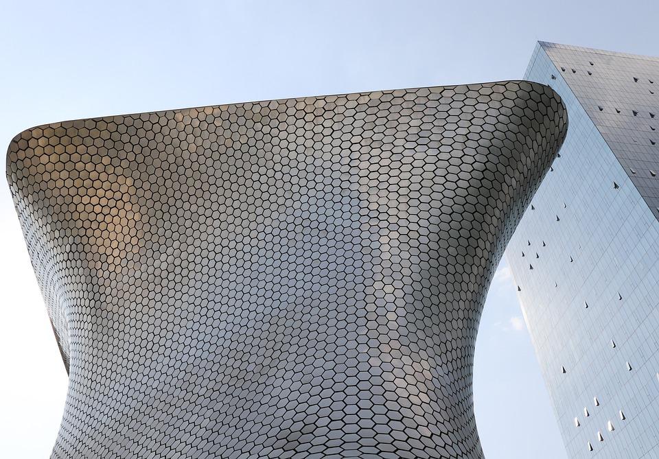 Museum, Building, Architecture, City, Soumaya, Mexico