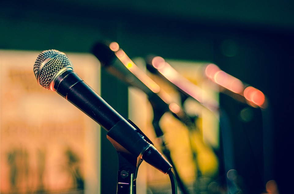 Mic, Microphone, Sound Check, Sing, Singing, Perform