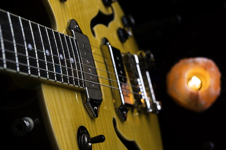 Guitar, Knobs, Musical Instrument, Sound, Music