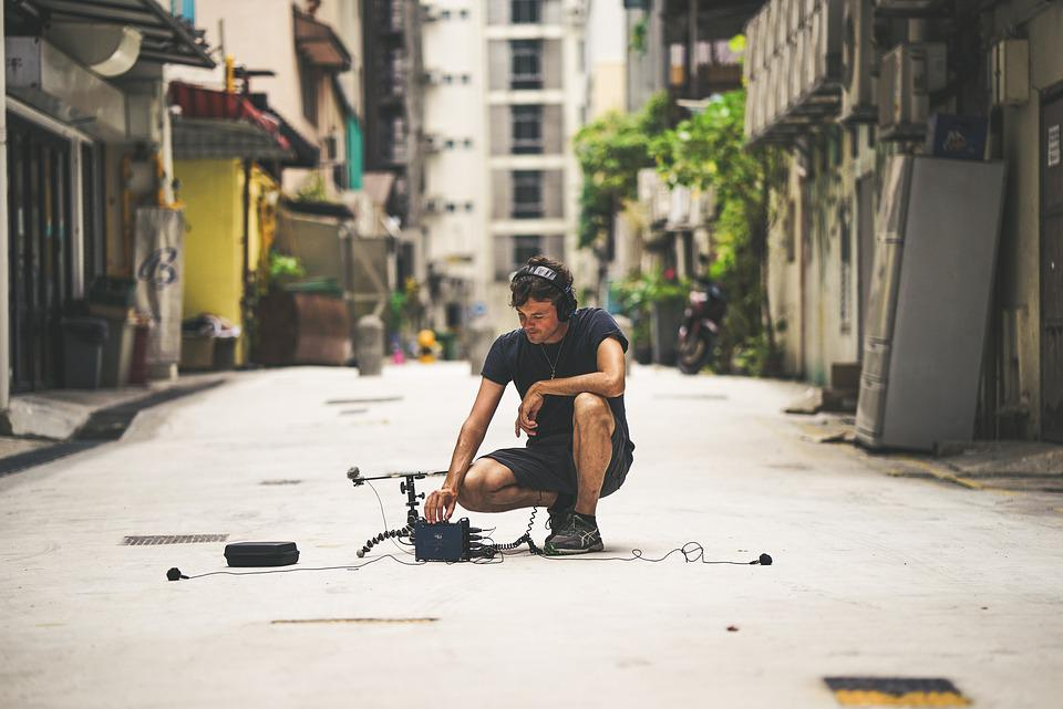 Sound Recording, Sound, Microphone, Micro, Recording