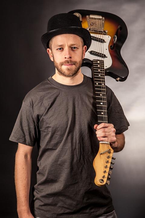 Man, Guitarist, Music, Guitar, Electric Guitar, Sound