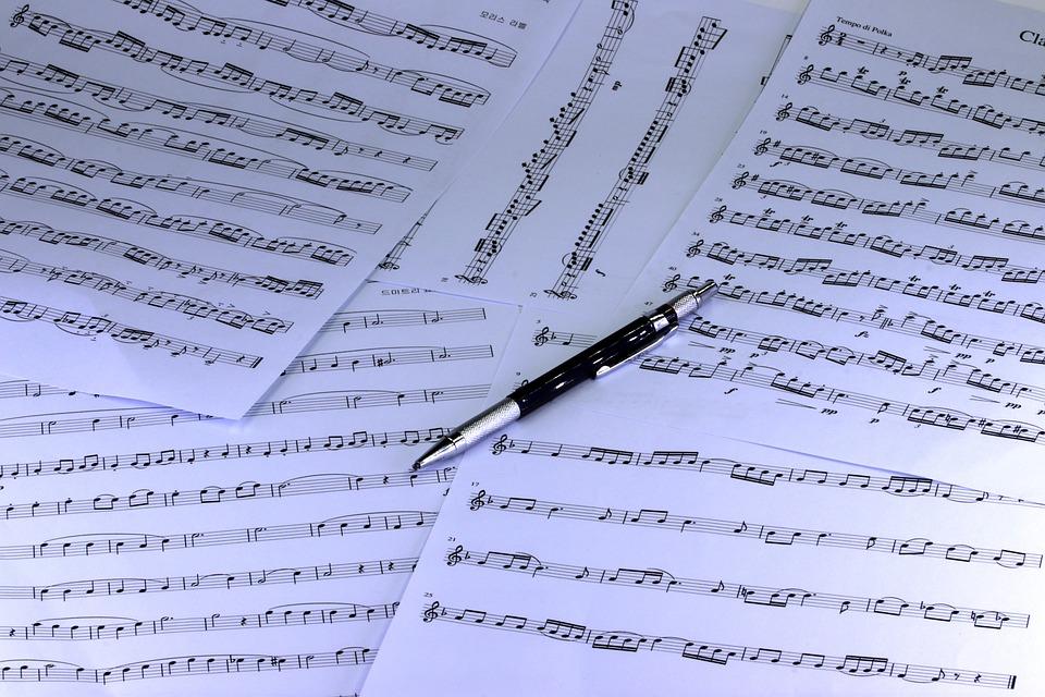 Music, Sheet Music, Clef, Musician, Sound, Melody