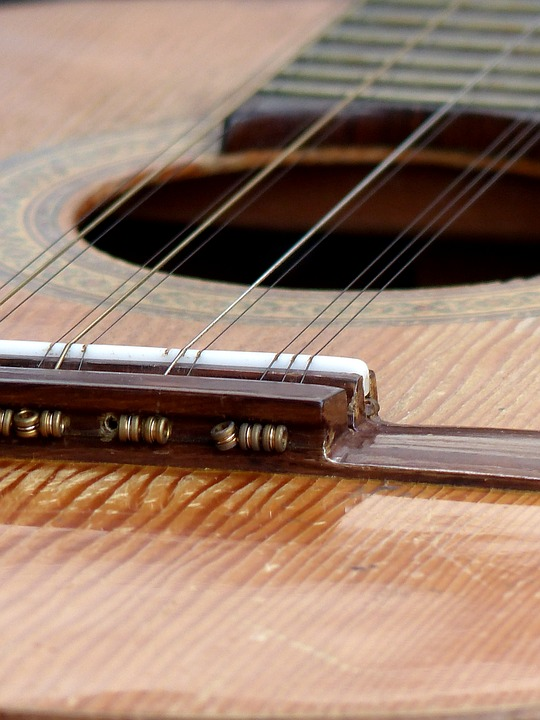 Guitar, Strings, Instrument, Music, Wood, Sound
