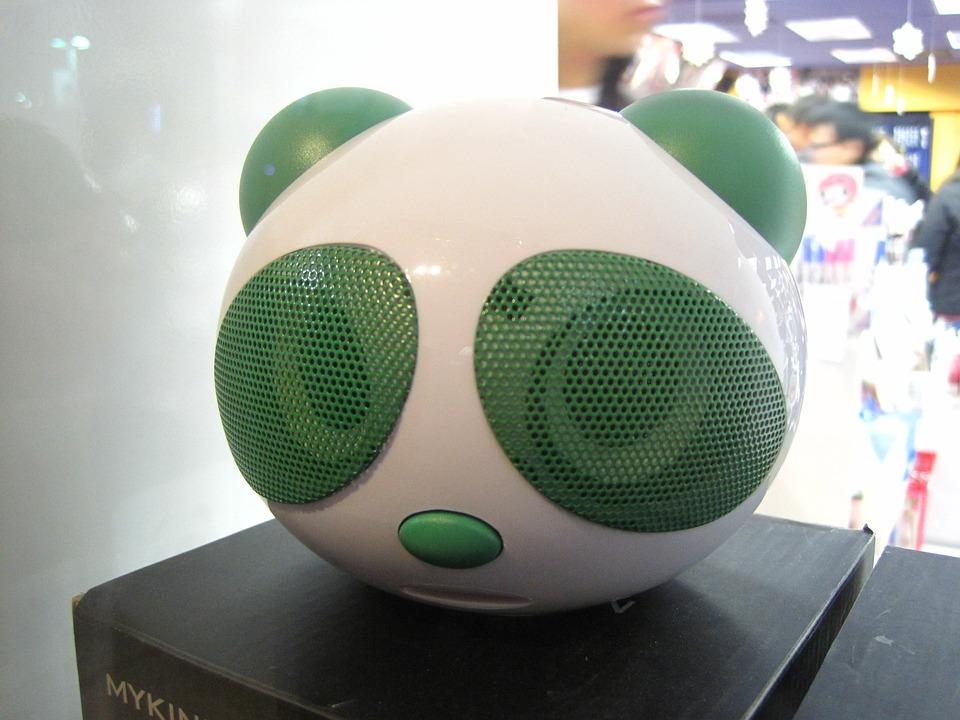 Panda, Radio, Electronics, Speaker, Music, Sound