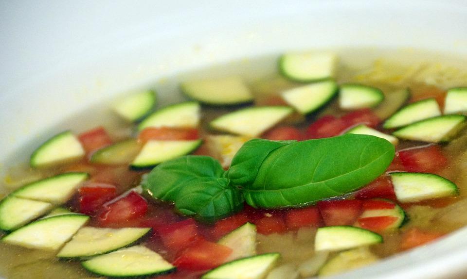 Soup, Vegetables, Healthy, Vegetarian, Vegetale
