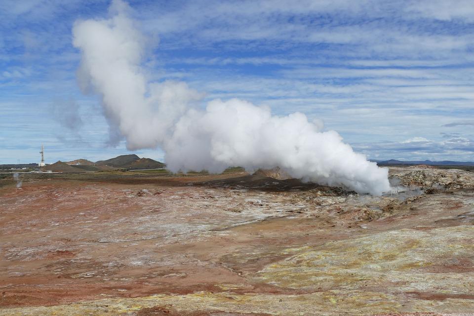 Iceland, Source, Spa, Volcanic, Nature, Geyser, Hot