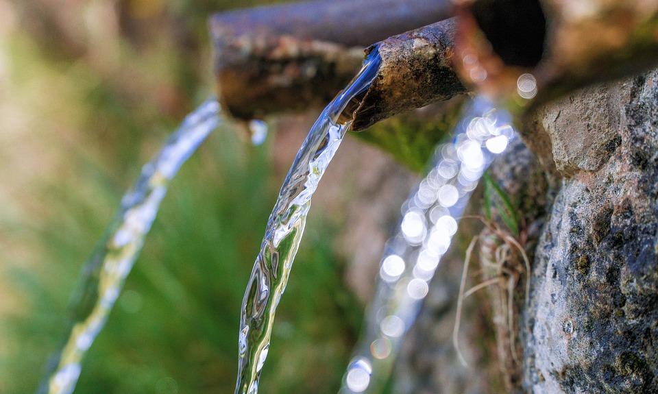 Source, Water, Natural, Fresh, Drink, Jet, Liquid
