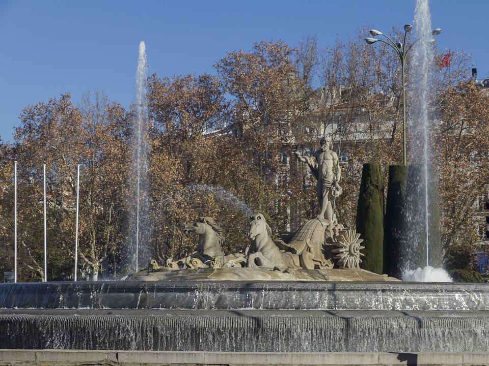 Madrid, Neptune Fountain, Sources