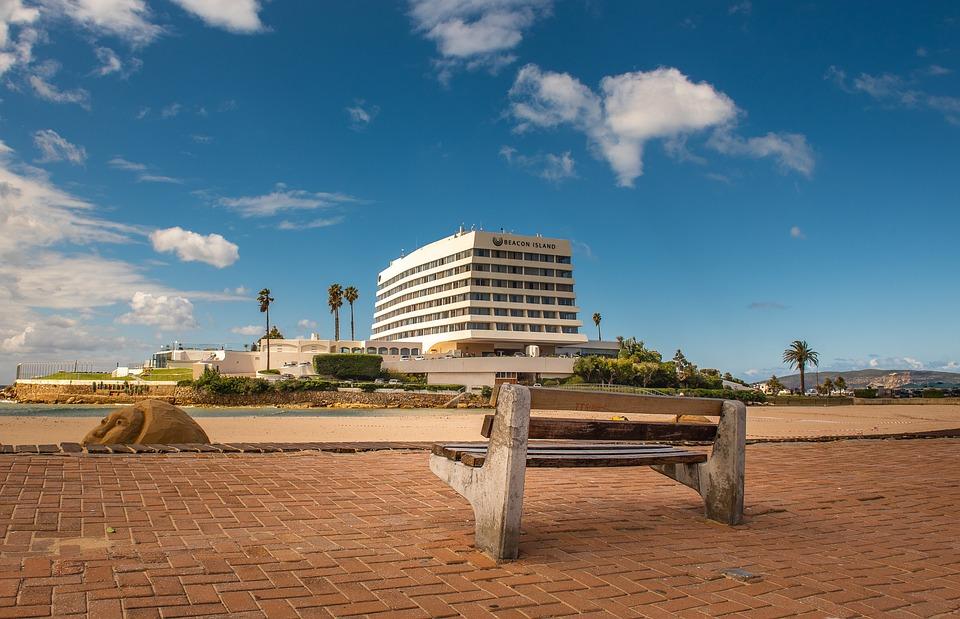 Hotel, Plettenberg Bay, South Africa, Sky, Architecture