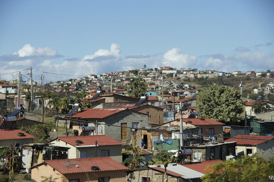 Slum, Huts, Poverty, South Africa, Shacks, Rural