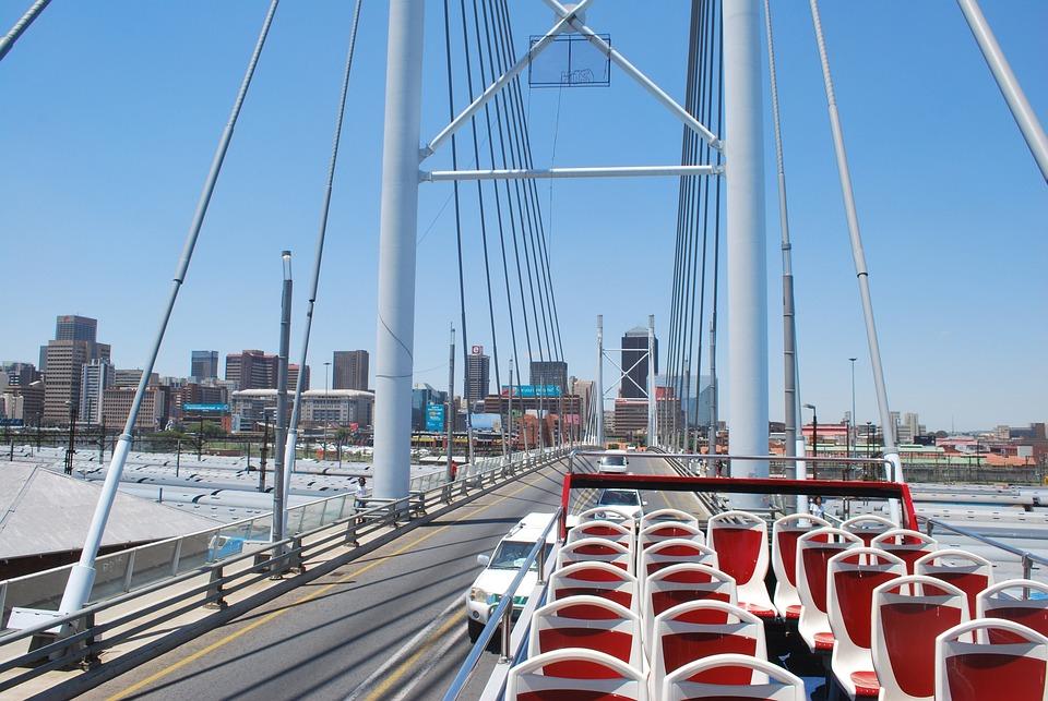 Johannesburg, Nelson Mandela Bridge, South Africa