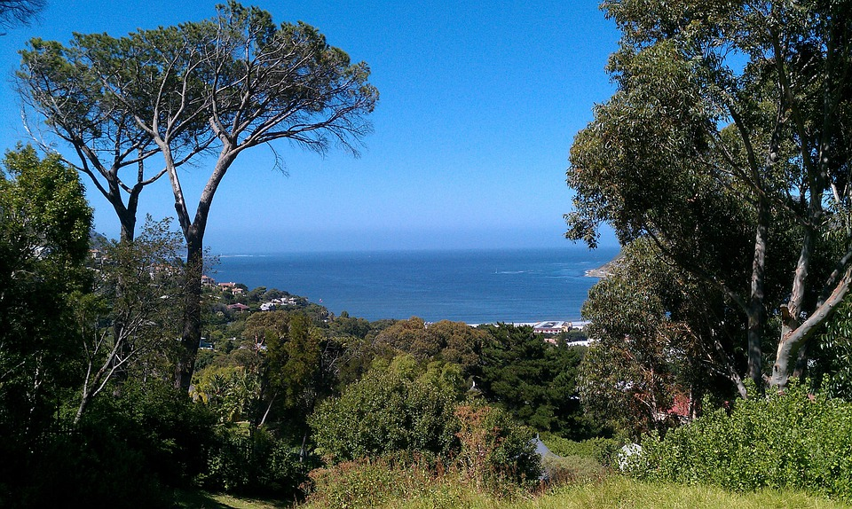 South Africa, Hout Bay, Sea Bay, Landscape