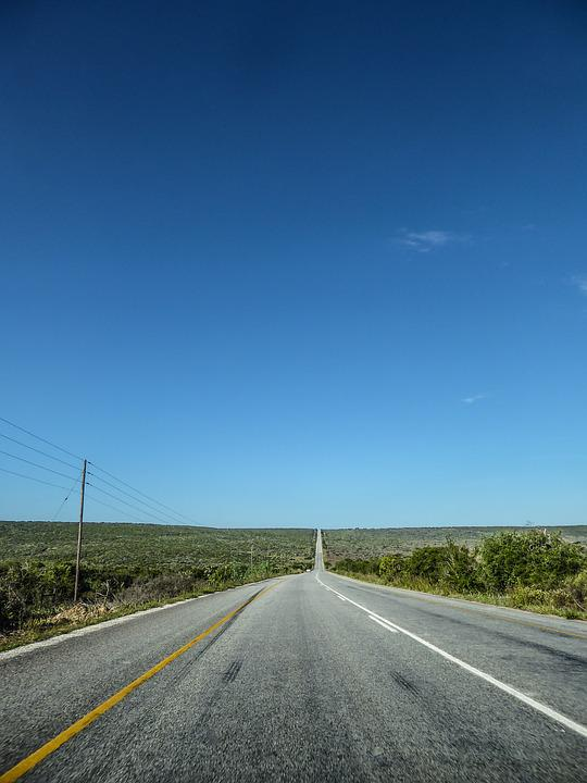 Road, Just, Freedom, Road Trip, South Africa, Asphalt