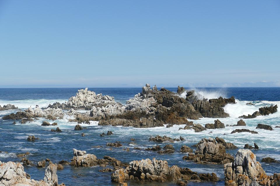 South Africa, Kleinmond Beach, Waters, Sea, Nature