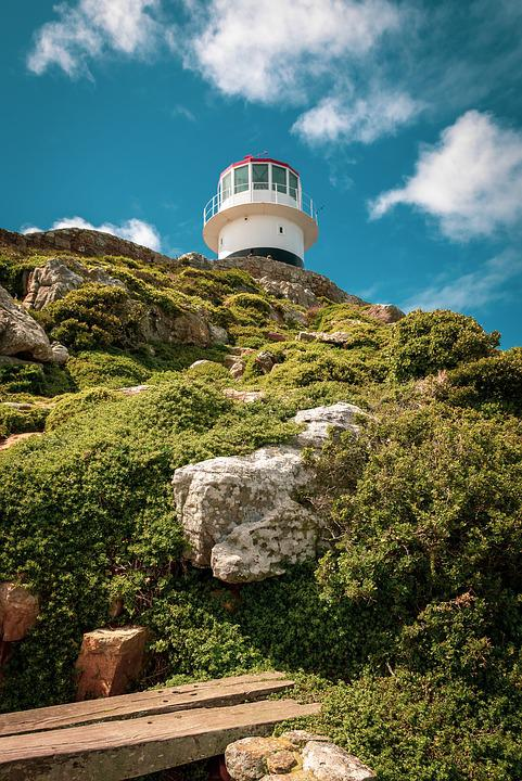 Cape Point, Lighthouse, South Africa, Tourism, Sky