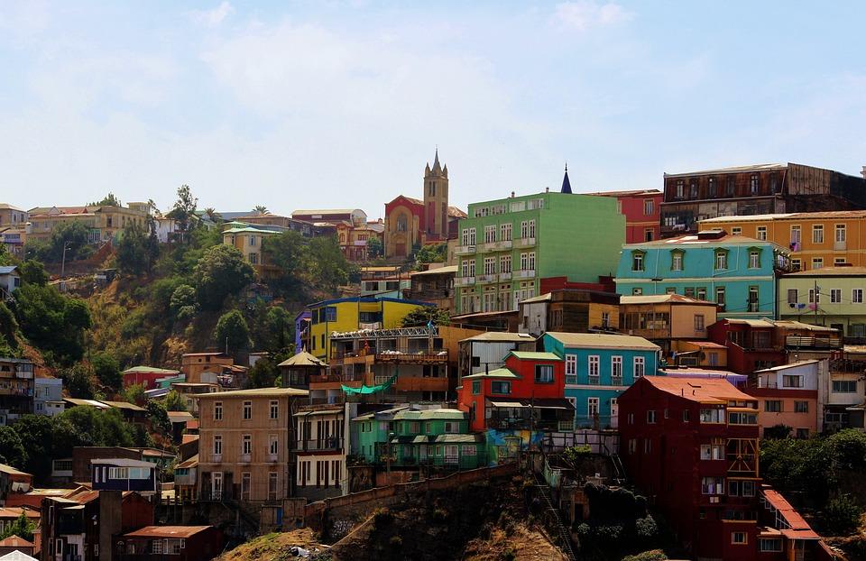 Valparaiso, Architecture, South America, Landscape