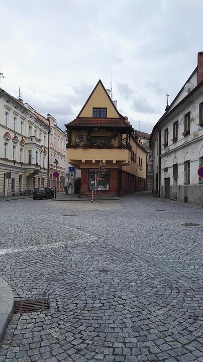 House, Paving, History, Stone Cubes, South Bohemia