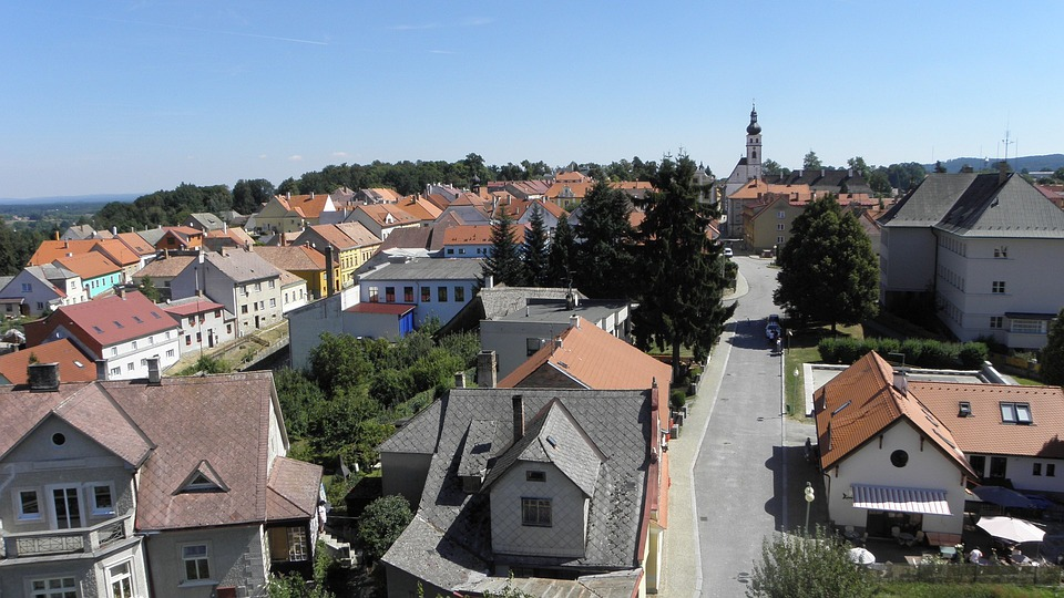 New Castle, Town, Nove Hrady, South Bohemia
