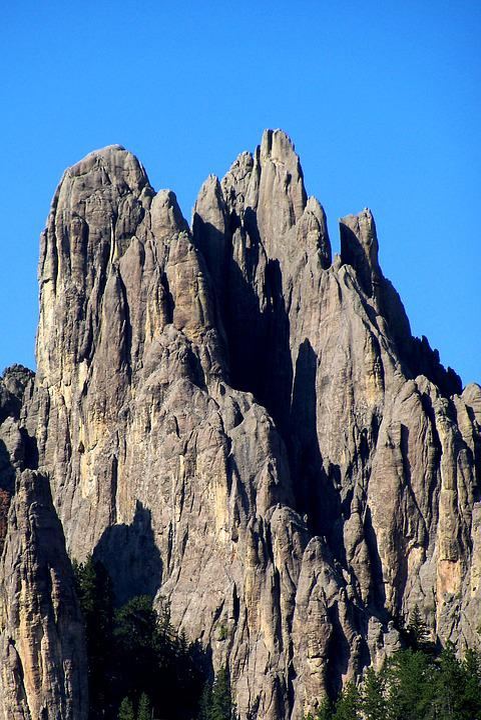 Cathedral Rock, Rock, Formation, Geology, South Dakota