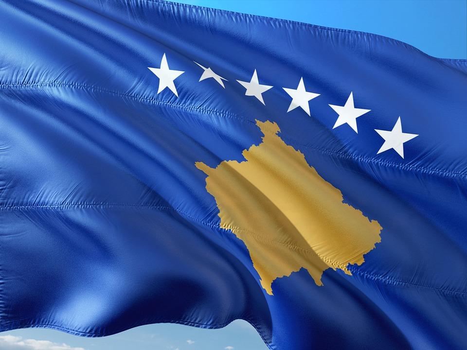 International, Flag, Kosovo, South East Europe