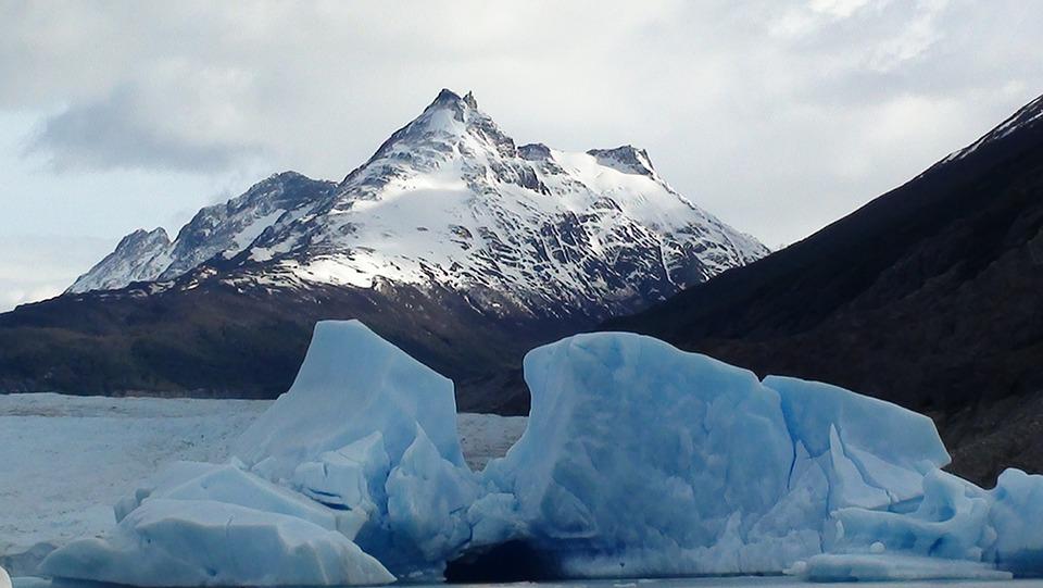 Patagonia, Glacier, Ice, Mountains, Snow, Nature, South