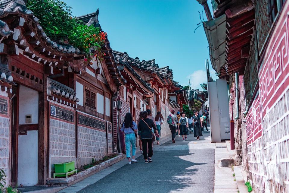 Korea, South Korea, Traditional, Sky, Heritage, Eastern