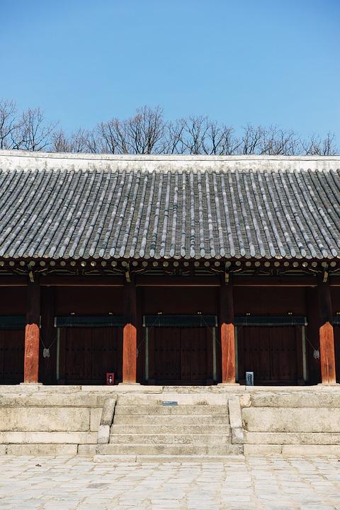 Asia, South Korea, Korea, Palace, Traditionally
