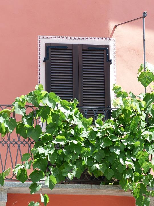 House, Stone, South, Mediterranean, Terracotta, Pink